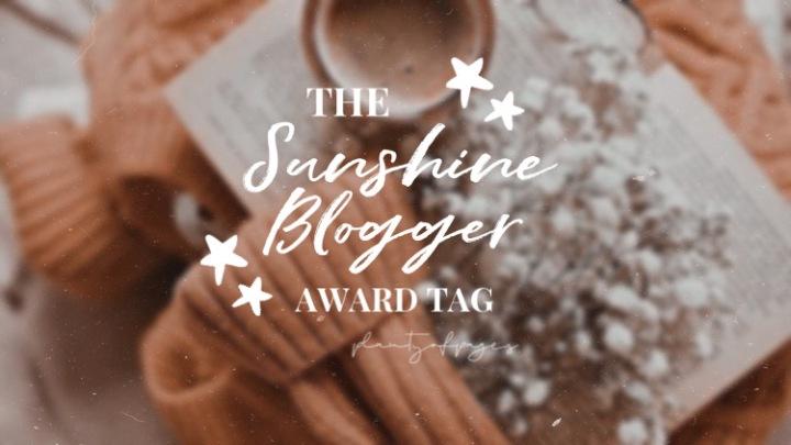 The Sunshine Blogger AwardTag